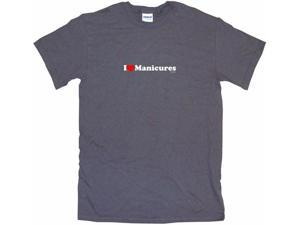 I Heart (Love) Manicures Men's Short Sleeve Shirt