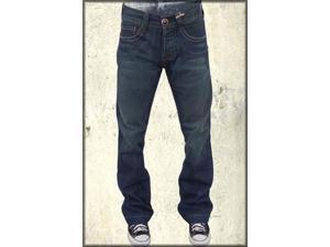 William Rast by Justin Timberlake John Embroidered Flap Pocket Men's Flare Leg Jeans in Bangin Tint
