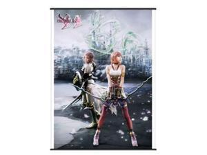 Final Fantasy XIII-2: Lighting & Serah Wall Scroll