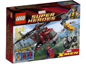 Lego Marvel Super Heroes: Marvel X-Men Wolverine's Chopper Showdown #6866