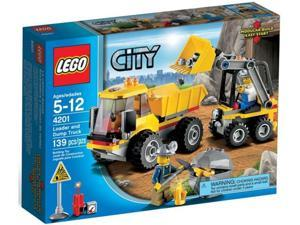 Lego City: Loader and Dump Truck #4201