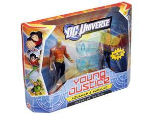 DC Universe Young Justice: Wave 1 Aquaman & Aqualad Action Figure 2-Packs