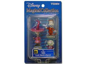 Disney Magical Collection #115 Nightmare Before Christmas Lock, Shock & Barrel Figures