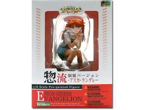 Neon Genesis Evangelion: Asuka Langley School Uniform PVC Figure