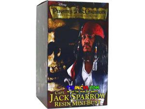 Pirates of the Caribbean Captain Jack Sparrow Mini Bust