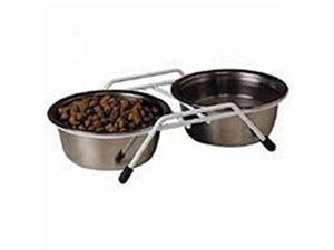 Classic Pet Products Stainless Steel Double Diner 3 Quart