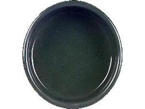 Vo-Toys Ceramic Dog Dish 5in Color Hunter Green