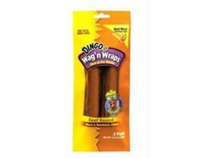 Dingo USA Wag n Wrap Beef Basted 5.25in  2 pack