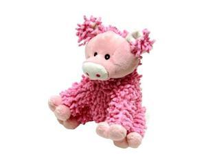 Vo-Toys Scruffie Nubbies Plush Pig 7in Assorted Color Dog Toy
