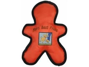 Vo-Toys Ballistic Nylon Mans Best Friend Assorted Colors 10 in Dog Toy