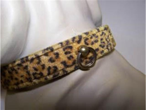 Jungle Queen Dog Collar 18in Leopard 141
