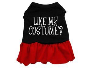 Like My Costume? Dog Dress - Red XS