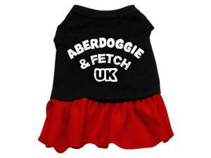 Aberdoggie UK Dog Dress - Red Med