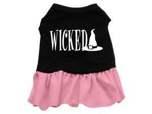 Wicked Dog Dress - Pink Lg