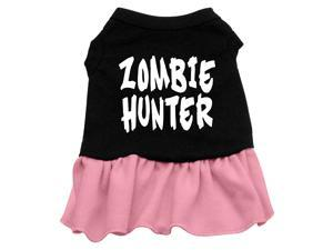 Zombie Hunter Dog Dress - Pink Med