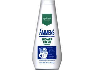 Ammens Medicated Powder, Shower Fresh Formula, 11-Ounce Bottles