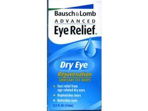 Bausch & Lomb Advanced Eye Relief, Dry Eye Rejuvenation, Lubricant Eye Drops .05 oz