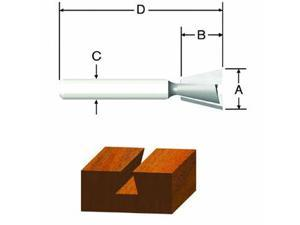 "Vermont American 3/8"" Dovetail Router Bit"