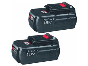 Porter Cable 2Pk 18V Nicad Battery