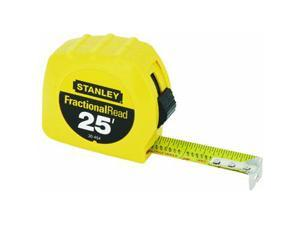 "Stanley Tools 1""X25 Yel Tape Rule"
