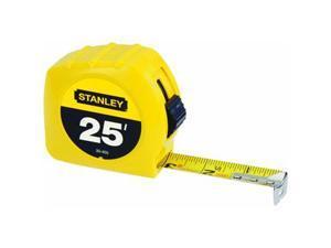"Stanley Tools 1""X25 Yel Tape Rule"