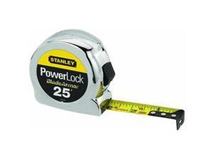 "Stanley Tools 1""X25 Chrome Tape Rule"