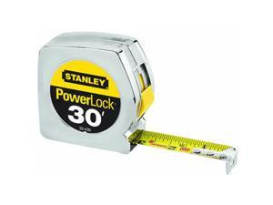 "Stanley Tools 1""X30 Chrome Tape Rule"