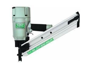 "Hitachi Power Tools 3-1/4"" Clipped Head Framing Nailer."