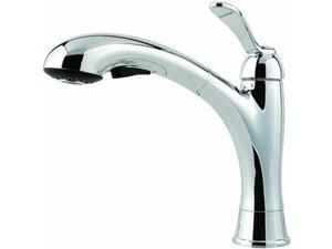 Pf Waterworks Lp 1H Ch Pullout Kit Faucet F5347Cmc