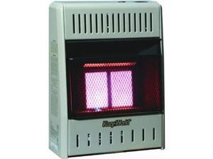 2PLAQUE INFRARED LP GAS HEATER