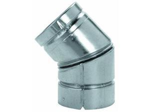 Pellet Stove Pipe Elbow