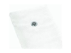 White Foam Shower Mat