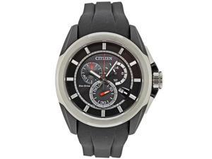Citizen AT0831-04E Mens  Eco-Drive  Black  Dial Rubber band