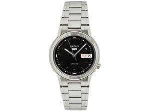 Seiko SNXE91 Mens  Seiko 5 Automatic Dress  Black Dial