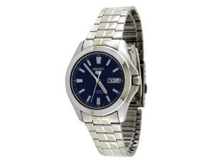 Seiko 5 #SNKL07 Men's Stainless Steel Blue Dial Self Winding Automatic Watch