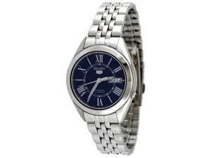 Seiko 5 #SNKL31 Men's Stainless Steel Blue Dial Self Winding Automatic Watch