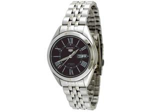 Seiko 5 #SNKL33 Men's Stainless Steel Black Dial Self Winding Automatic Watch
