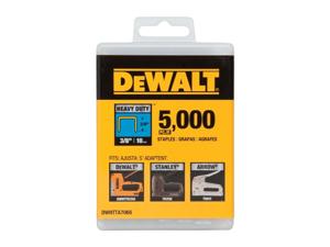 DeWALT DWHTTA7085 Heavy Duty Narrow Crown Staples 1/2'' - 5000 PK