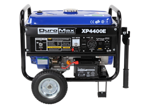 DuroMax XP4400E RV Grade 4400 Watt 7.0 Hp Gas Generator w/ Electric Start & Wheel Kit
