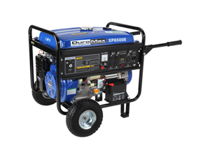 DuroMax XP8500E 8500 Watt 16.0 Hp Gas Generator with Electric Start, Wheel Kit - OEM