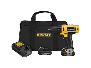 DCD710S2 12V MAX Cordless Lithium-Ion 3/8 in. Keyless Chuck Drill Driver Kit