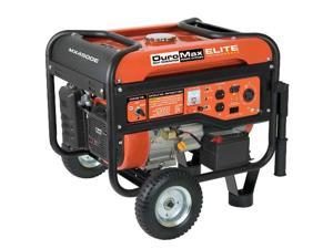DuroMax Elite 4,500 Watt Gas Power RV Electric Start Portable Generator -MX4500E