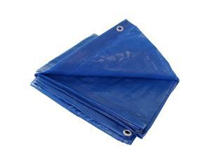 Blue 15x15 Heavy Duty UV Protected Treated Canopy Sun Shade Boat Cover Tarp