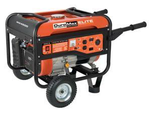 DuroMax Elite 4,500 Watt 7 HP Gas Power RV Camping Portable Generator - MX4500