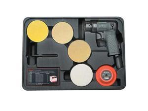 Ingersoll Rand 3128K Air Mini Random Orbit Orbital Sander Kit Tool - IR3128K