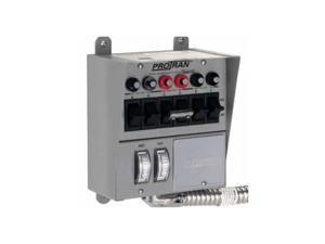 Reliance Controls Pro/Tran Indoor Transfer Switch w/ Meter (Max. Watts 12500)