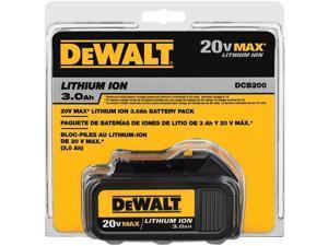 DCB200 20V MAX 3 Ah Lithium-Ion Battery