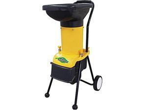 EcoShredder ES1600 Electric Garden Yard Leaf Waste Chipper Shredder Mulcher