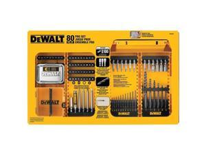 DeWALT DW2587 80-Piece Professional Drilling / Driving Set