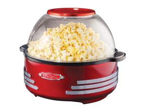 NOSTALGIA ELECTRICS  SP300RETRORED  Red  Retro Series Stirring Popcorn Maker